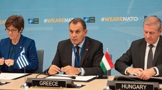Παναγιωτόπουλος στο ΝΑΤΟ: Η ελληνογαλλική συμφωνία ενισχύει τη συλλογική ασφάλεια της Συμμαχίας