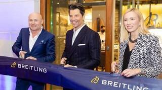 H Breitling καλωσορίζει το πρώτο της flagship store στην Αθήνα