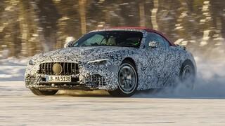 Η νέα Mercedes SL θα παρουσιαστεί στις 28 Οκτωβρίου