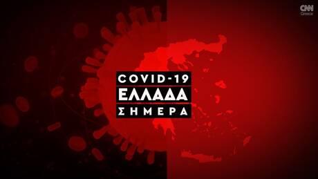 Κορωνοϊός: Η εξάπλωση της Covid 19 στην Ελλάδα με αριθμούς (22/10)