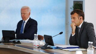 Νέα επικοινωνία Μπάιντεν-Μακρόν εν όψει της συνάντησης στη Ρώμη