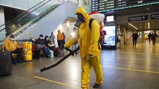 Κορωνοϊός- Ρωσία: Πέμπτο συνεχές ρεκόρ θανάτων - Για νέο lockdown ετοιμάζεται η Μόσχα