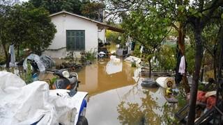 Κέρκυρα: Πλημμύρισαν σπίτια, έκλεισαν δρόμοι από την πρωινή νεροποντή