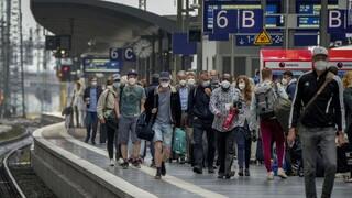 Κορωνοϊός – Γερμανία: Στα επίπεδα του Μαΐου ο δείκτης επίπτωσης των κρουσμάτων