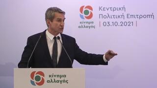 Εκλογές ΚΙΝΑΛ - Λοβέρδος: Αν εκλεγώ, θα κάνω δηλώσεις ως πρόεδρος ΠΑΣΟΚ