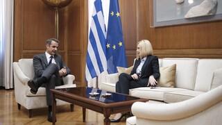 Θάνατος Φώφης Γεννηματά: Αλλαγές στο πρόγραμμα Μητσοτάκη, επιστρέφει αύριο στην Αθήνα
