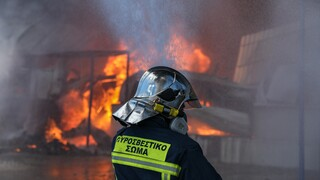 Θεσσαλονίκη: Σε εξέλιξη πυρκαγιά σε χωματερή στα Διαβατά