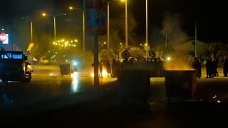 Πέραμα - Διαδηλώσεις: Κλειστή η λεωφόρος ΝΑΤΟ στο ρεύμα προς Άνω Λιόσια και Αττική Οδό